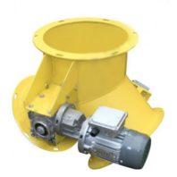 Клапан перекидной круглый с электроприводом КПО 30-3