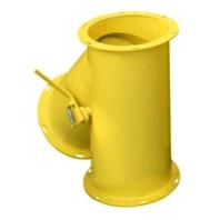 Клапан перекидной круглый ручной КПО  (цены от завода)